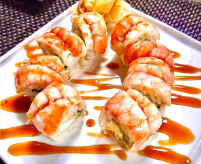 Shrimp рол