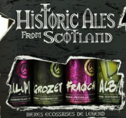 HISTORIC ALES FROM SCOTLAND 4 бут. 0,33л