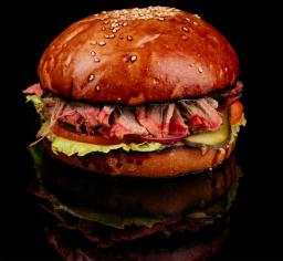 Бургер з томленою свининою BBQ, 315 г