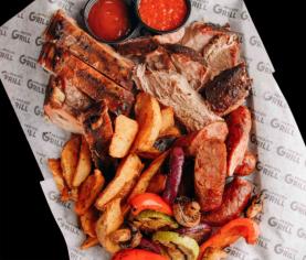 М'ясний BBQ сет, 1600 г