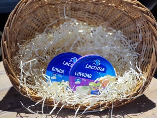 Сир Lactima порційна гауда 120гр
