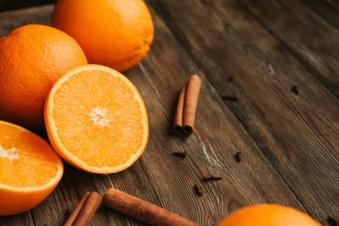 Апельсин 100г