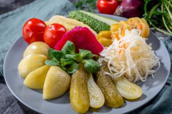 Асорті квашених овочів 450г