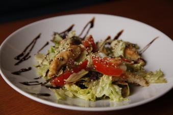 Мікс салат з курячим філе 260г