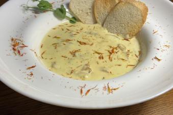 Морепродукти у вершково-шафрановому соусі 250г