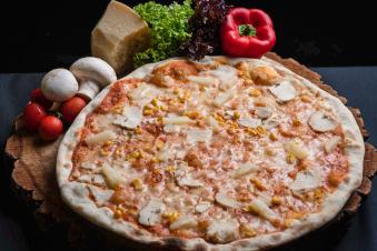 Піца Гавайська, 35см, 450г