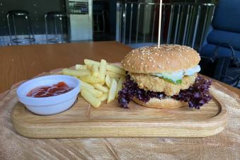 Рибний бургер, 400г