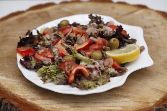 Салат з морепродуктами та овочами 290г