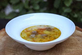 Суп з фрикадельками 350гр