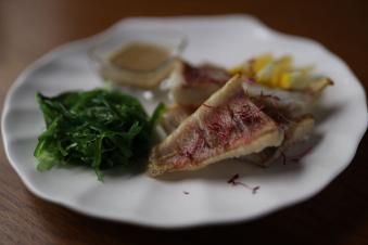 Пряний окунь з сівіт-салатом 270г