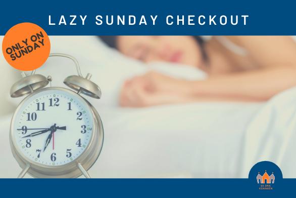 DDK Lazy Sunday Checkout