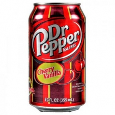 Dr.Pepper Vanilla Cherry (USA, state Atlanta)