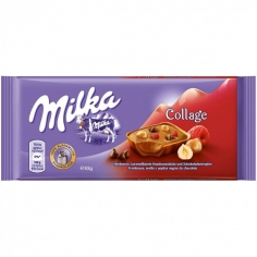 Milka Collage МАЛИНА 100 г