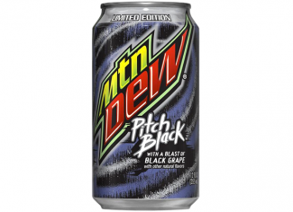 Mountain Dew Pitch Black (производство USA, state Atlanta)
