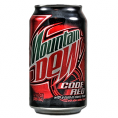 Mountain Dew Code Red (производство USA, state Atlanta)