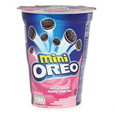 Oreo Mini Strawberry Flavoured Cream, 67г