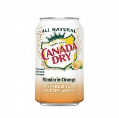 CANADA DRY MANDARIN ORANGE 0,355 ml (производство USA, state Atlanta)