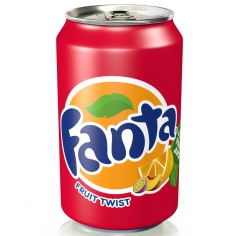 Fanta fruit TWIST (USA, state Atlanta)