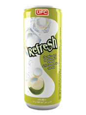 UFC REFRESH 60%Coconut Water pump  кокосовая вода 240ml