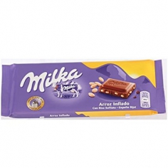 MILKA CRISPY RICE MILK CHOCOLATE (90 Г)