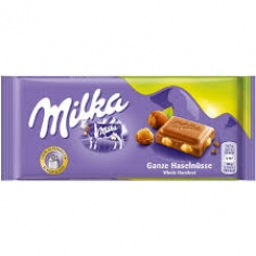Milka whole hazenuts