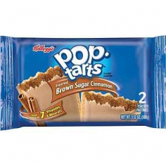Kellogg's Frosted Brown Sugar Cinnamon Pop Tarts США