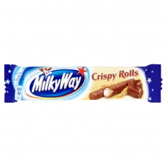 Milky Way Crispy Rolls 25г батончик