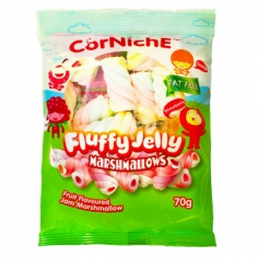 Corniche Marshmallows fluffy jelly 70г США