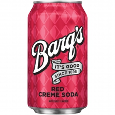 Barqs red soda