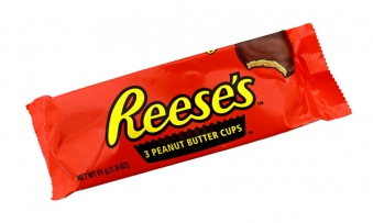 Reeses 3 peanut butter cups