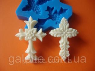 крестик из глазури