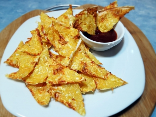 Чіпси з лаваша