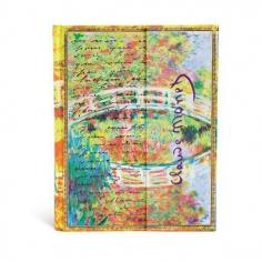 Embellished Manuscripts, Monet, Bridge, Ultra, Unlined, 9781439719404