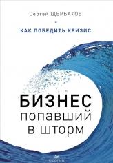 Бизнес, попавший в шторм. Как победить кризис. Сергей Щербаков, 9785496019736