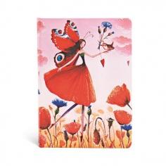 Mila Marquis, Poppy Field, midi, lined, 9781439733226