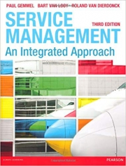 Service Management: An integrated approach, 9780273732037