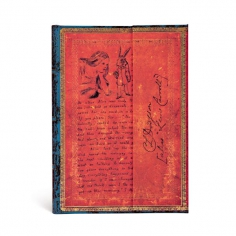 Embellished Manuscripts,Lewis Carroll, Alice in Wonderland. Midi, Lined, 9781439746080