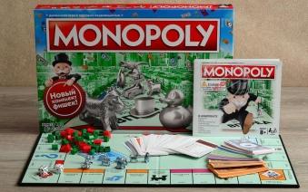 Hasbro: Монополия (прямоугольная, обновленная (с уточкой), C1009121, 5010993414475