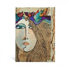 Laurel Burch Spirit of Womankind, Soul & Tears,  midi, lined, 9781551563923