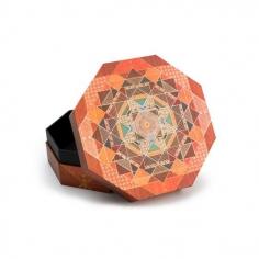 Kirikane, Bija, Octagonal ultra, box, 9781439725825