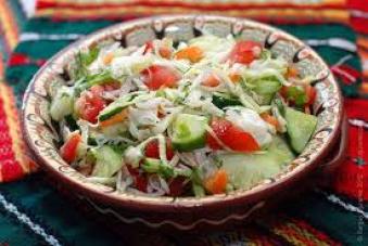 Салат Овочевий 200г (чт)