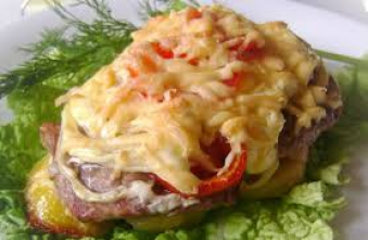 М'ясо по французьки 100г (чт)