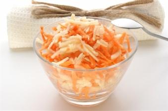 Салат з моркви та яблука 200г (вт)