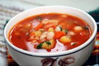 Суп томатний з м'ясом 250г (вт)