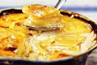Картопля по домашньому з сиром 200г (чт)