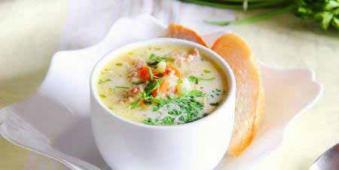 Сирний Овочевий Суп 250г (пн)