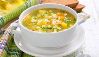 Суп Овочевий з Ячною Крупою 250г (чт)