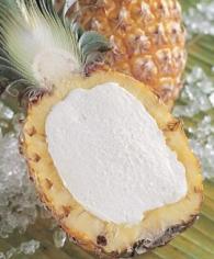 Dessert-sorbee Ananas Ripieno