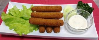 18 Mozzarella pulgad / Хрустящие палочки с сыром